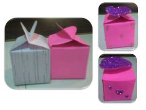Easy and cute Valentine special D.I.Y. Heart Gift box