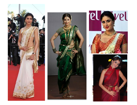 10 Different and Awesome saree draping styles or ways